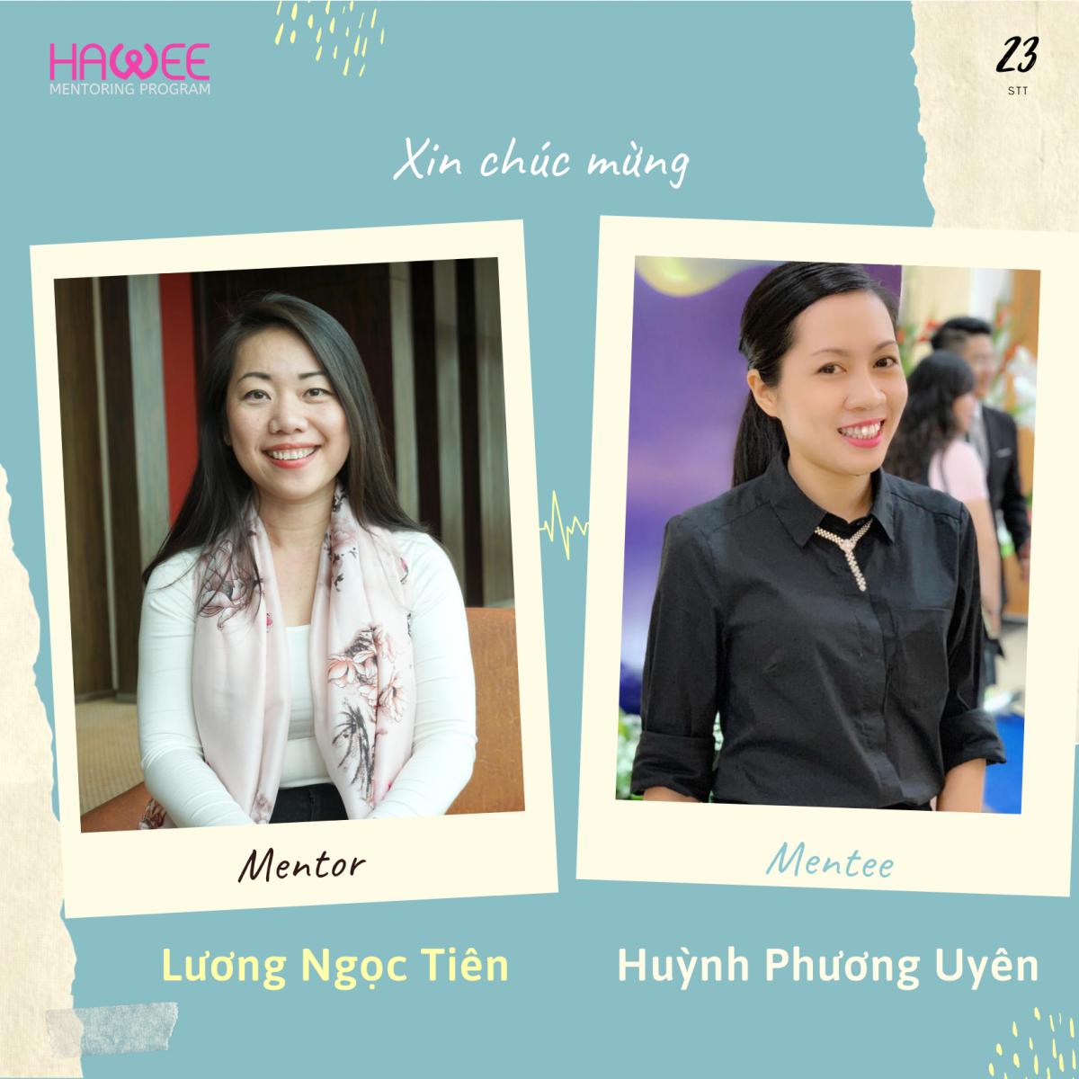 STT 23. Mentor Lương Ngọc Tiên & Mentee Huỳnh Phương Uyên